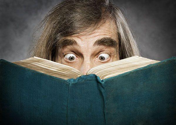 shocked reader