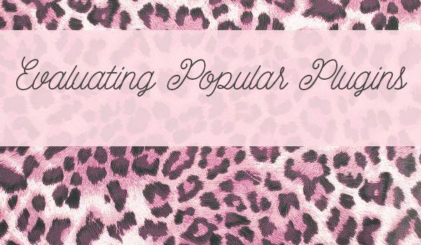 Tacky pink leopard spots