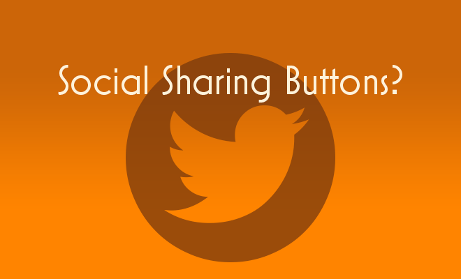 Social Sharing Buttons?